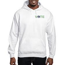 Vote Green Hoodie