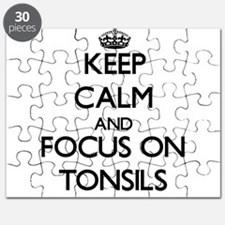 Keep Calm by focusing on Tonsils Puzzle