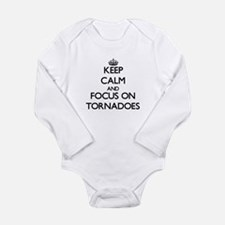 Keep Calm by focusing on Tornadoes Body Suit