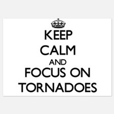 Keep Calm by focusing on Tornadoes Invitations
