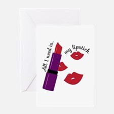 My Lipstick Greeting Cards