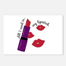 My Lipstick Postcards (Package of 8)