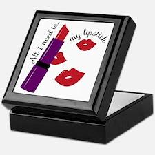 My Lipstick Keepsake Box