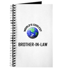 World's Coolest BROTHER-IN-LAW Journal