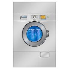 Washing Machine Wall Art Poster