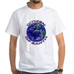 CITIZEN OF EARTH....White T-Shirt