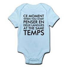 Thinking in French and English Body Suit