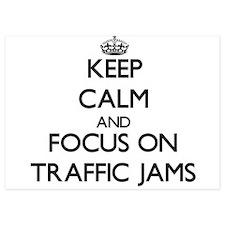 Keep Calm by focusing on Traffic Jams Invitations