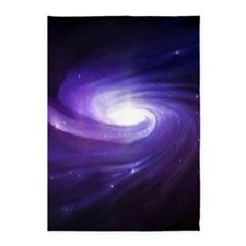 Purple Vortex 5'x7'Area Rug