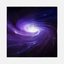 Purple Vortex Queen Duvet