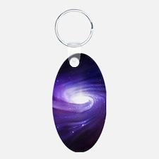 Purple Vortex Keychains