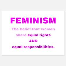 Feminism Invitations