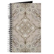 glamorous girly Rhinestone lace pearl Journal