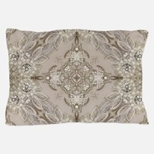 glamorous girly Rhinestone lace pearl Pillow Case