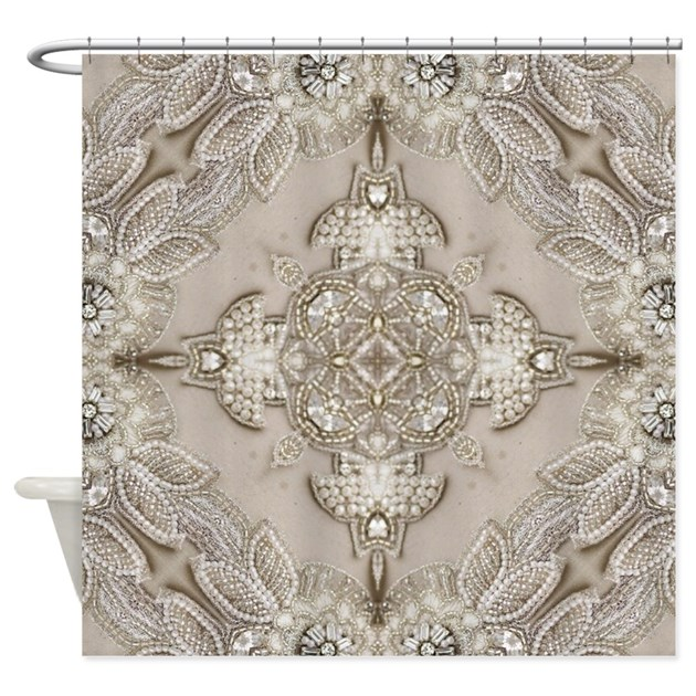 Bling Shower Curtains | Bling Fabric Shower Curtain Liner