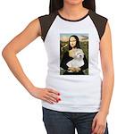 Mona's Coton de Tulear Women's Cap Sleeve T-Shirt