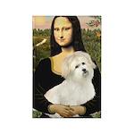 Mona's Coton de Tulear Rectangle Magnet (10 pack)