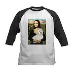 Mona's Coton de Tulear Kids Baseball Jersey