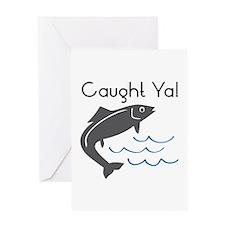 Caught Ya Greeting Cards