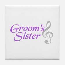 Groom's Sister(clef) Tile Coaster