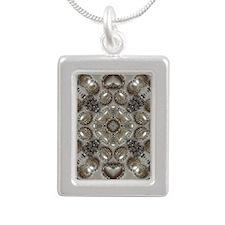 girly vintage pearl diamond glamorous Necklaces