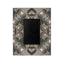 girly vintage pearl diamond glamorou Picture Frame