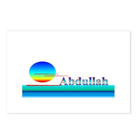 Abdullah Postcards (Package of 8)