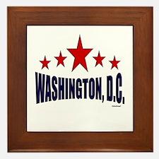 Washington, D.C. Framed Tile