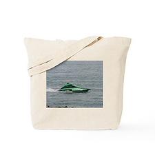 Green Hydroplane Tote Bag