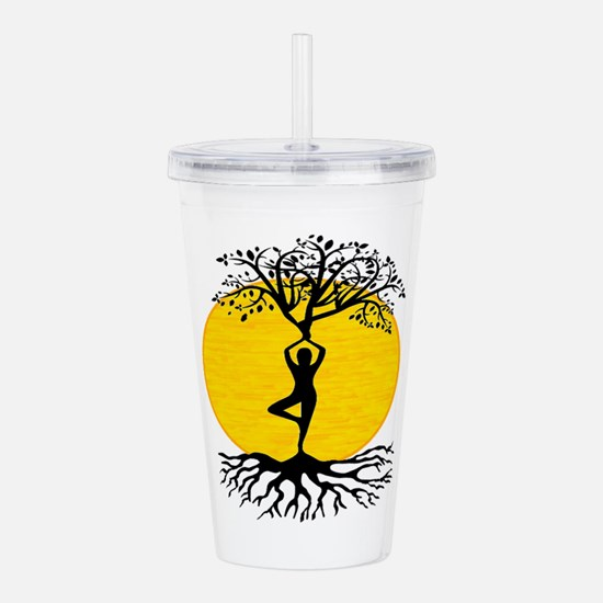 FIND THE WAY Acrylic Double-wall Tumbler