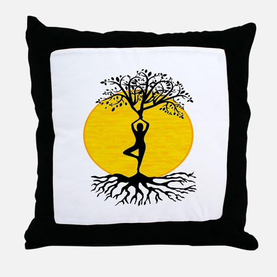 FIND THE WAY Throw Pillow