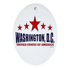 Washington, D.C. Ornament (Oval)