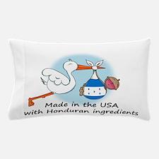 stork baby honduras 2.png Pillow Case