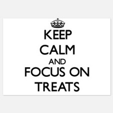Keep Calm by focusing on Treats Invitations