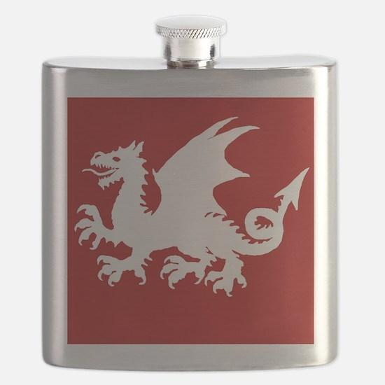 Cute Celtic nations Flask