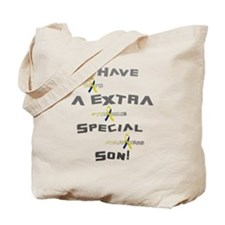 Extra Special Son Tote Bag