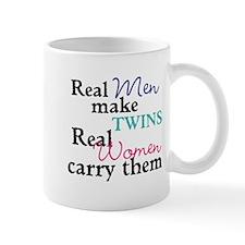Real Men and Women Make Twins Mugs