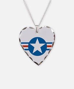 usaf_roundel_air_force copy.p Necklace