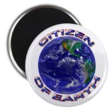 CITIZEN OF EARTH....Magnet