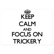 Keep Calm by focusing on Trickery Invitations