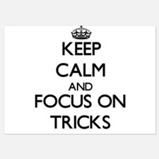 Keep Calm by focusing on Tricks Invitations