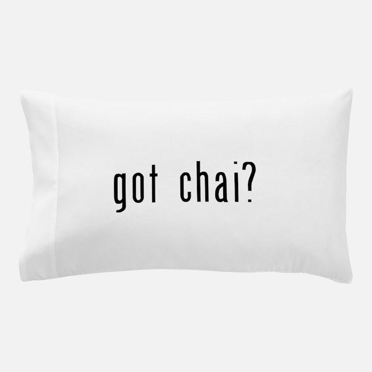 got chai black.png Pillow Case