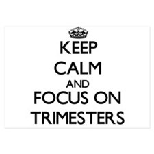 Keep Calm by focusing on Trimesters Invitations