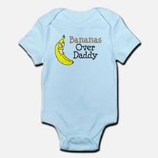 Bananas Over Daddy Body Suit
