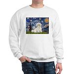 Starry / Coton de Tulear (#7) Sweatshirt