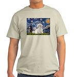 Starry / Coton de Tulear (#7) Light T-Shirt