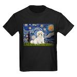 Starry / Coton de Tulear (#7) Kids Dark T-Shirt