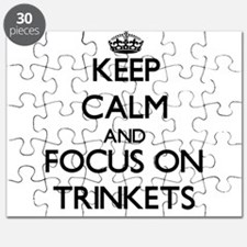 Keep Calm by focusing on Trinkets Puzzle