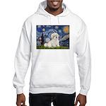 Starry / Coton de Tulear (#7) Hooded Sweatshirt