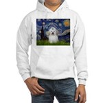 Starry Night Coton de Tulear Hooded Sweatshirt
